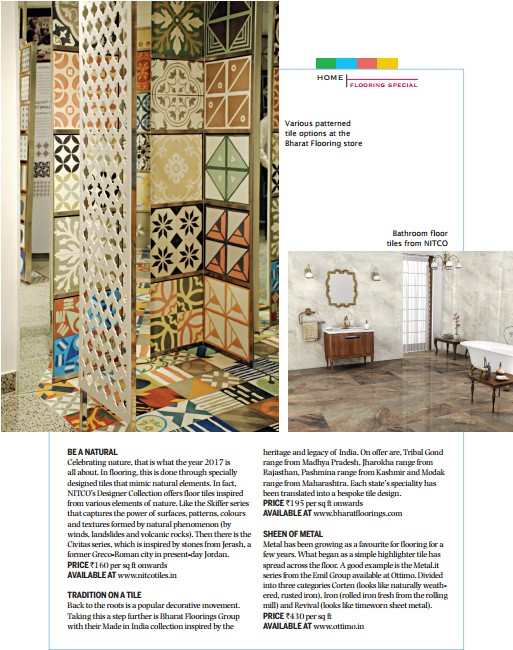 India Today - Home Flooring Special